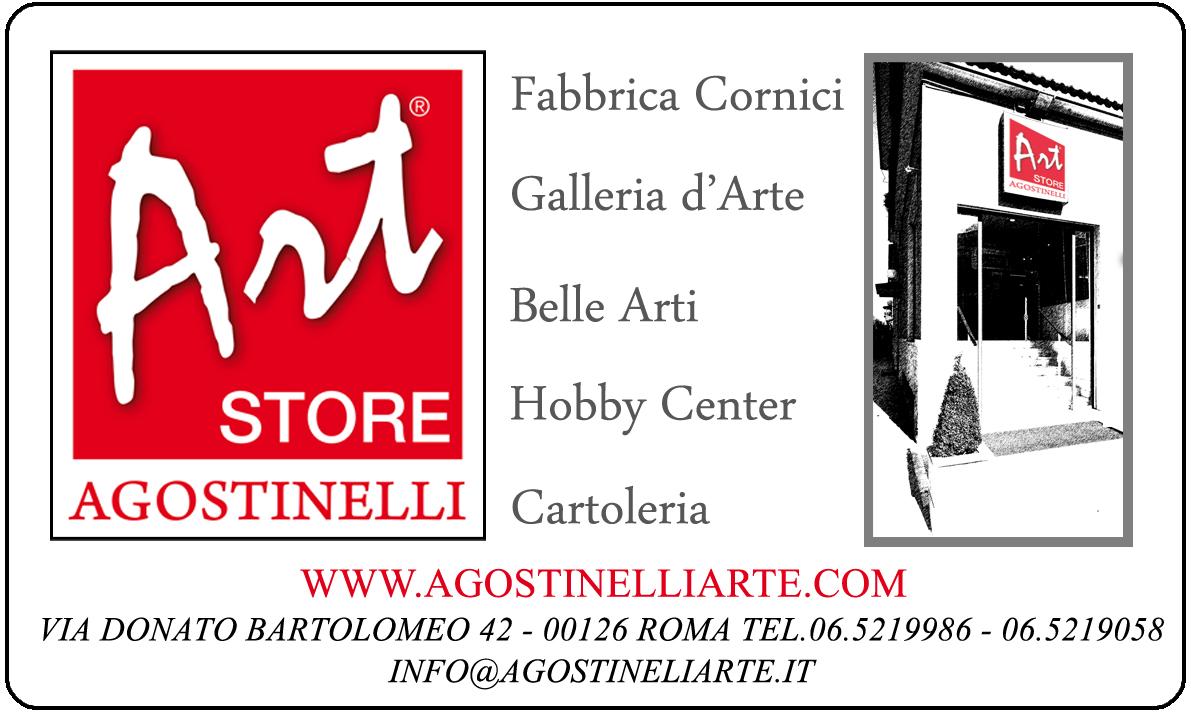 logo agostinelli art store