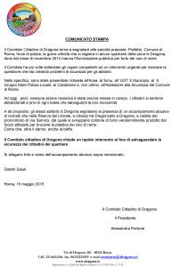2015-5-15 comunicato stampa illuminazione pubblica Dragona