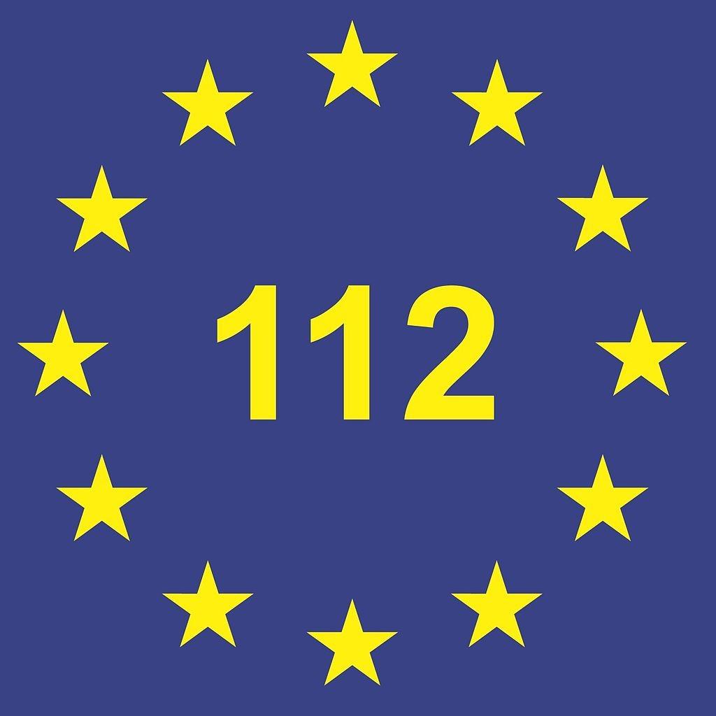 Logo-notruf-112-europaweit
